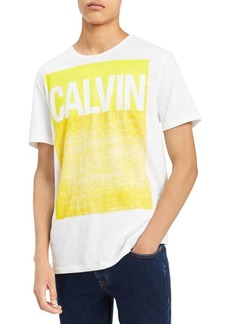 Calvin Klein Pop Color Square Cotton Crewneck Tee