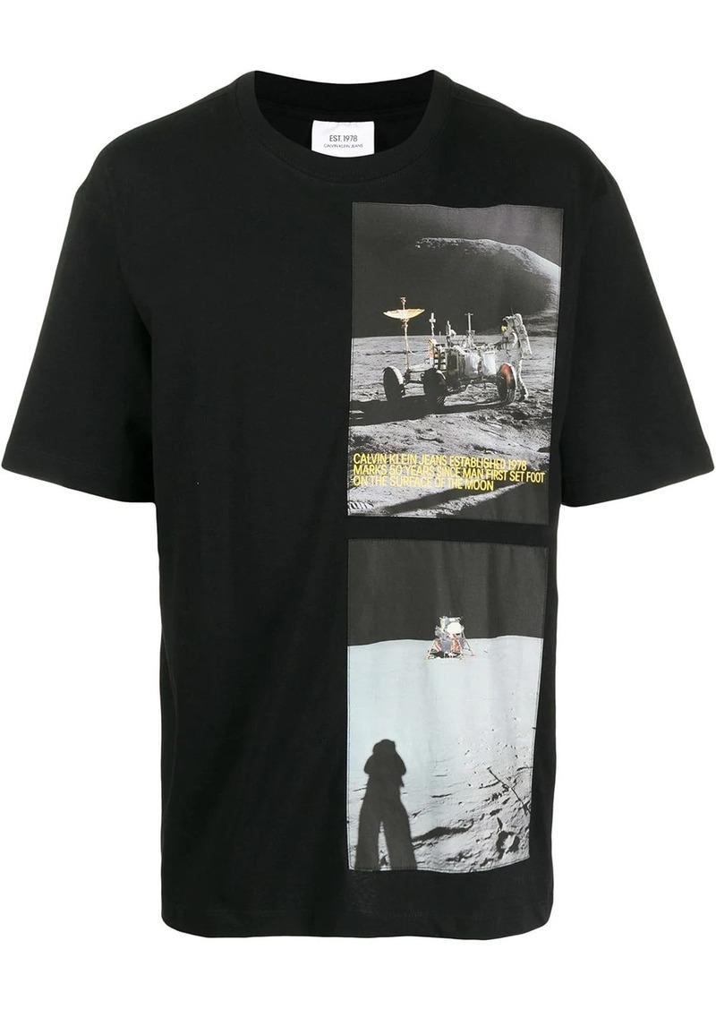 Calvin Klein printed astronaut T-shirt