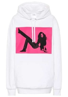 Calvin Klein Printed cotton-blend hoodie