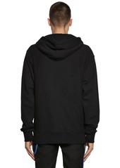Calvin Klein Printed Cotton Jersey Sweatshirt Hoodie