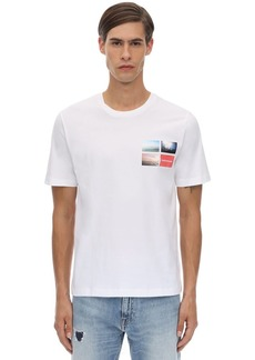 Calvin Klein Printed Cotton Jersey T-shirt