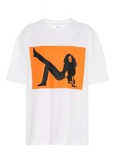 Calvin Klein Printed cotton T-shirt