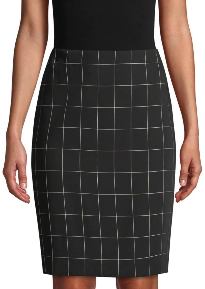 Calvin Klein Printed Mini Skirt