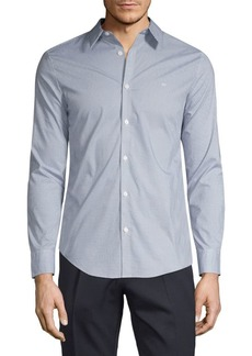 Calvin Klein Printed Stretch Shirt