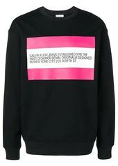Calvin Klein printed sweatshirt