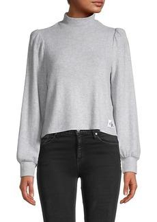 Calvin Klein Puff-Sleeve Top