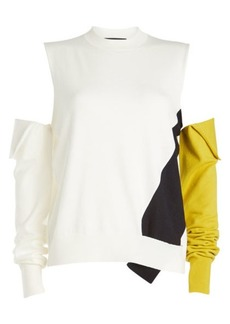 Calvin Klein Pullover with Detachable Sleeves