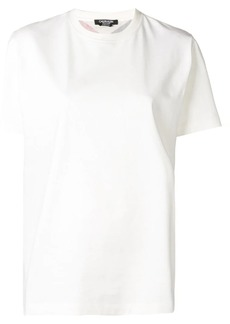 Calvin Klein rear-print fitted T-shirt