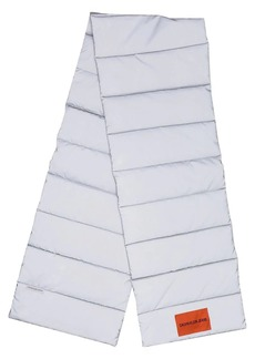 Calvin Klein reflective padded scarf
