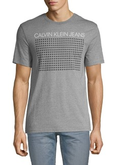 Calvin Klein Reflective Stars Cotton Tee