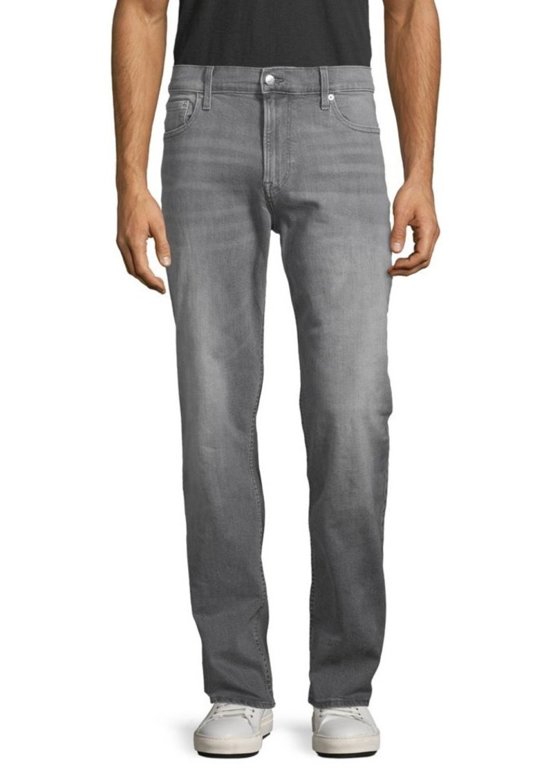 Calvin Klein Relaxed-Fit Straight-Leg Jeans