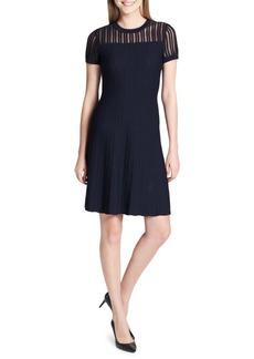 Calvin Klein Rib-Knit Sweater Dress