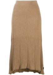 Calvin Klein ribbed knit skirt