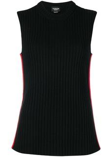 Calvin Klein ribbed-knit top