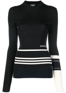 Calvin Klein ribbed logo top
