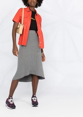 Calvin Klein ribbed tulip skirt
