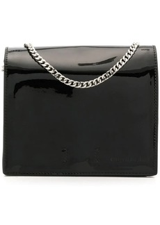 Calvin Klein ring detail shoulder bag