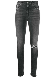 Calvin Klein ripped skinny fit jeans