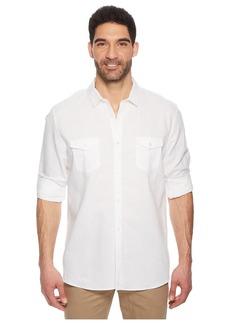 Calvin Klein Roll-Tab Woven Shirt