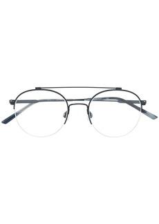Calvin Klein round aviator glasses