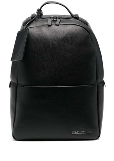 Calvin Klein round faux leather backpack