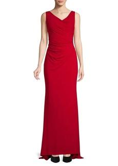 Calvin Klein Ruched Gown