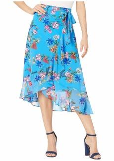 Calvin Klein Ruffle Front Skirt w/ Tie