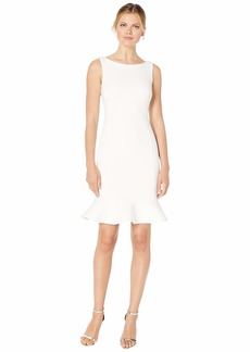 Calvin Klein Ruffle Hem Dress