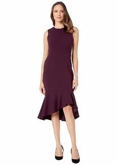 Calvin Klein Ruffle Hem Midi Dress