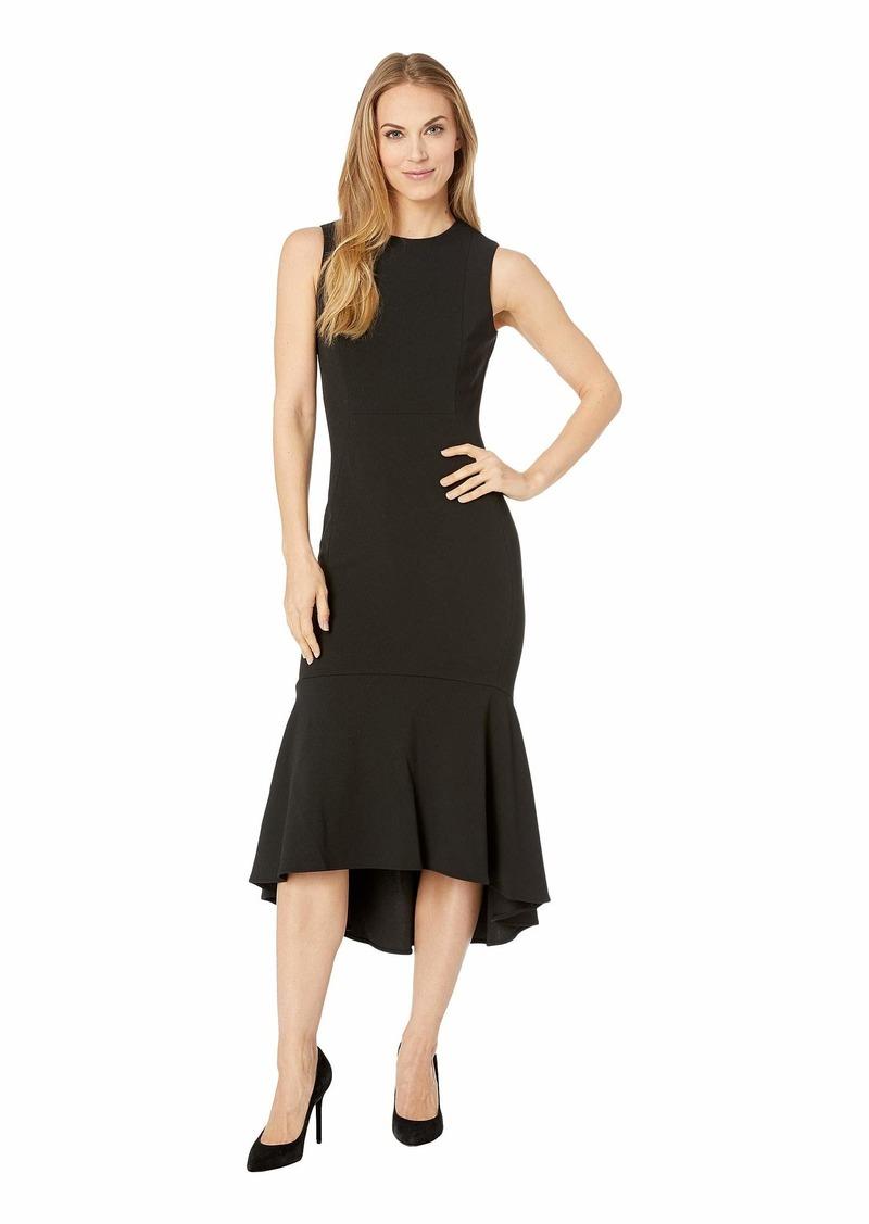 a95dd7a243ad4 Calvin Klein Ruffle Hem Midi Dress CD9C15BJ Now $97.99