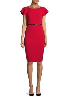 Calvin Klein Ruffled Bodycon Dress