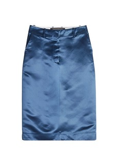 Calvin Klein Satin Skirt
