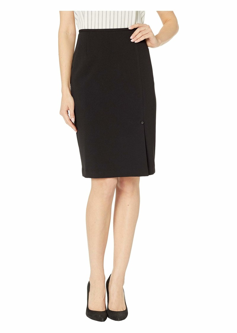 Calvin Klein Scuba Crepe Skirt