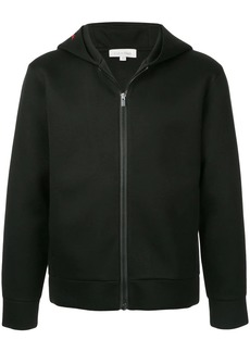 Calvin Klein sculpted double face hooded track jacket