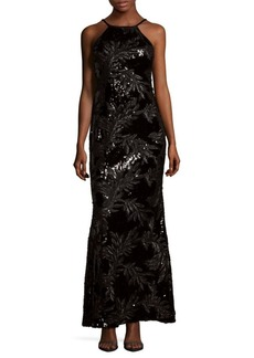 Calvin Klein Sequin Sleeveless Dress