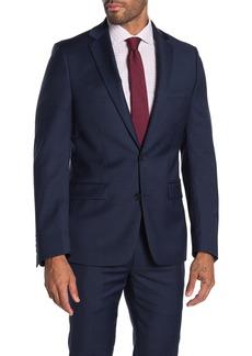 Calvin Klein Sharkskin Slim Fit Suit Separate Jacket