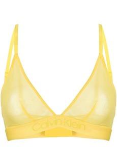 Calvin Klein sheer contour bra