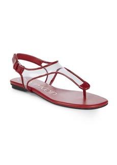Calvin Klein Shilo Clear-Insert Sandals