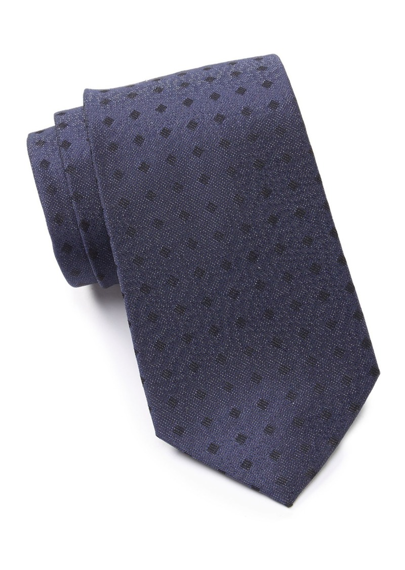Calvin Klein Shimmer Squares Tie
