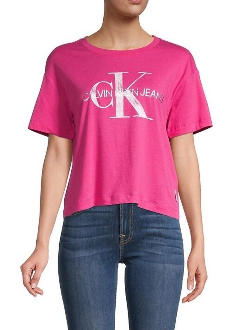 Calvin Klein Short Graphite Logo T-Shirt