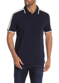 Calvin Klein Short Sleeve Colorblock Polo