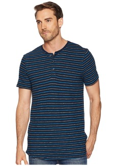 Calvin Klein Short Sleeve Grindle Stripe Henley