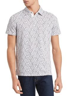 Calvin Klein Short Sleeve Printed Button-Down Shirt