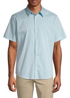 Calvin Klein Short-Sleeve Stretch Shirt