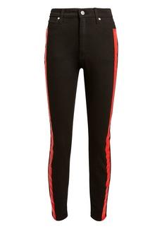Calvin Klein Red Stripe Black Jeans
