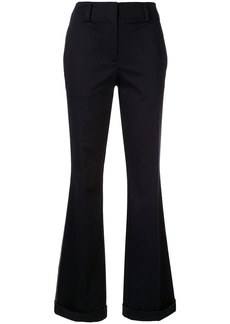 Calvin Klein side stripe flared trousers