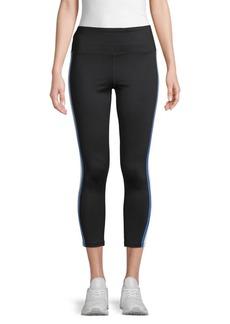 Calvin Klein Side-Stripe High-Waist Leggings