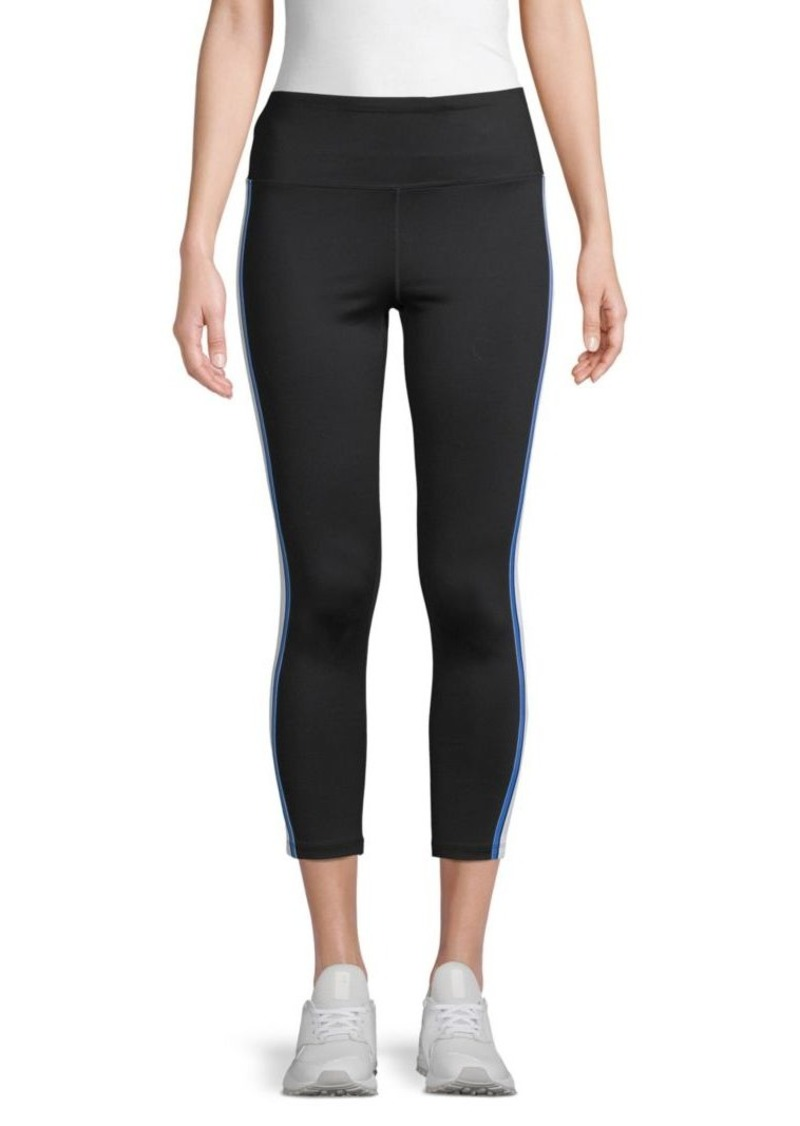 Calvin Klein Side-Stripe High-Waist Leggings