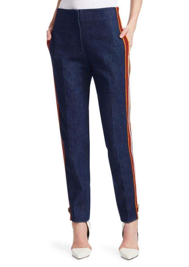 Calvin Klein Side Stripe Zip Jeans