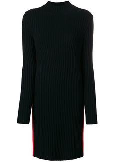 Calvin Klein side stripe polo dress